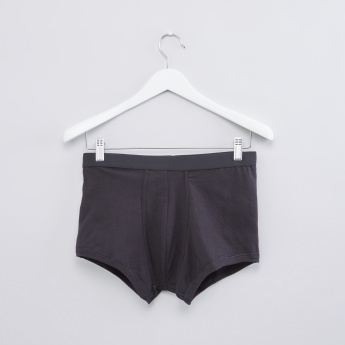 Trunk Briefs with Elasticised Waistband - Set of 2