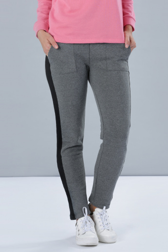 Track Pants with Side Panels