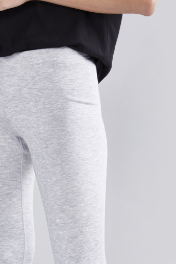 Mid-Rise Leggings in Skinny Fit with Elasticised Waistband