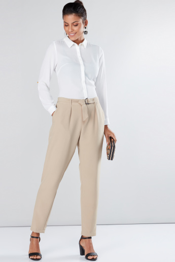Long Sleeves Shirt with Concealed Placket
