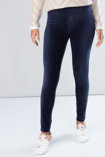feb2ad1d980c3 Full Length Jegging with Elasticised Waistband and Pocket Detail ...