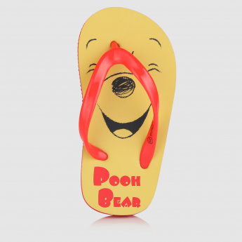 Winnie the Pooh Printed Thong Slippers